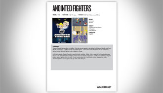 Anointed Fighters Sales Sheets
