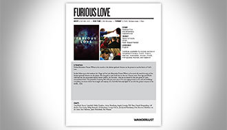 Furious Love Sales Sheets