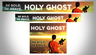 Holy Ghost Banner Ads