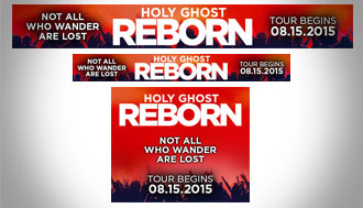 Holy Ghost Kickstarter Banner Ads